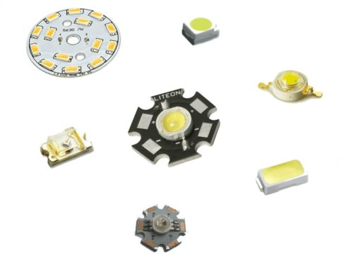 Светодиоды в исполнении smd (для монтажа на плату или ленту)