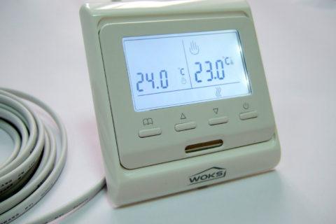 Цифровой терморегулятор для внутрипольных систем отопления