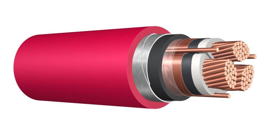 Сегментная форма жил кабеля