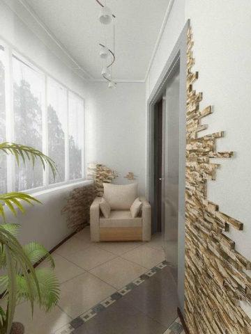 Дизайн освещения для балкона