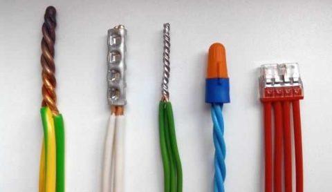 Каким способом соединить провода?