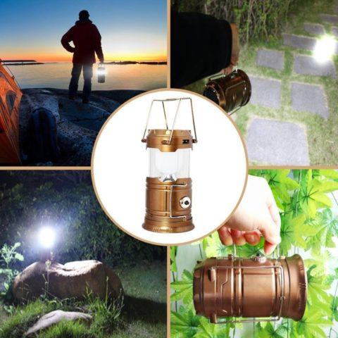 Кемпинговый фонарь на светодиодах – отличный выбор для путешественника