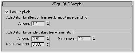 Меню настроек параметров метода Монте-Карло