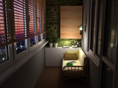 Освещение для балкона