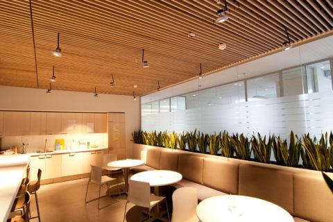 Освещение зон отдыха в офисных помещениях
