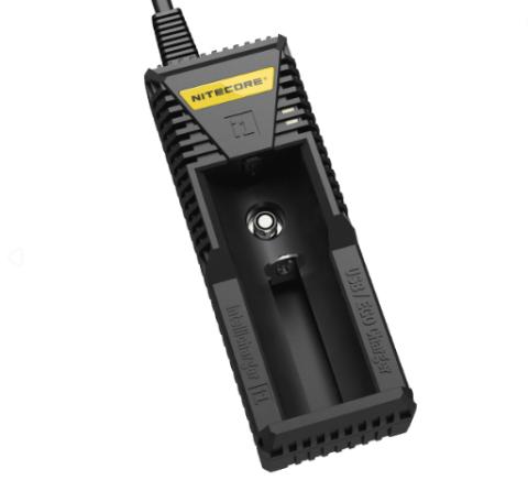 Полуавтоматическое зарядное устройство марки Nitecore