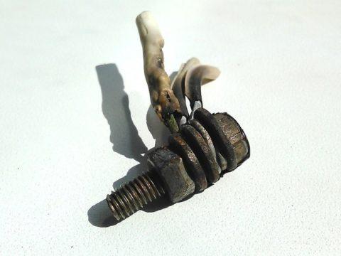 Последствия установки стальной шайбы между медным и алюминиевым проводом