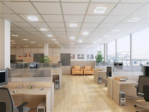 Правильное освещение для современного офиса