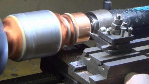 Проточка ламелей ротора