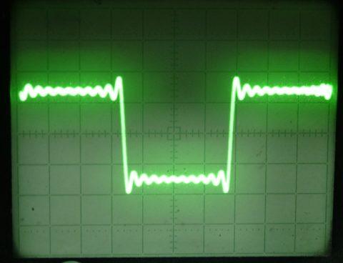 Прямоугольный сигнал модуляции