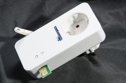 Розетка, управляемая по GSM