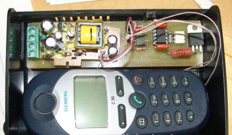 Самодельная GSM розетка