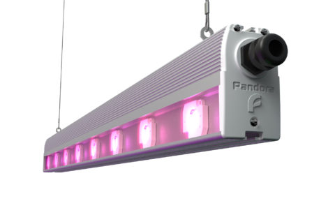 Светодиодный светильник со встроенным вентилятором