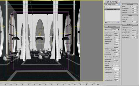vray освещение интерьера: создание 3D сцены