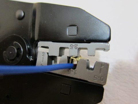 Крайне важно соответствие сечения провода и наконечника