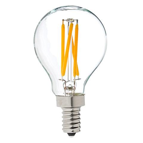 Лампа на светодиодных нитях светит во всех направлениях