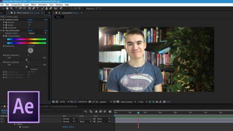 Обработка видео в программе Adobe After Effects