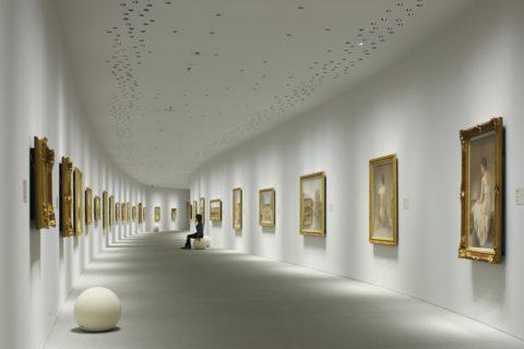 Профессиональное освещение галереи