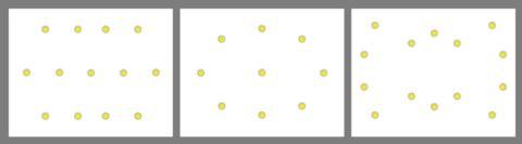 Схемы расположения точечных светильников