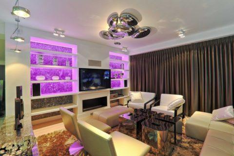 Создание атмосферы внутри помещения – функция осветительных приборов