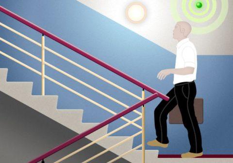 Управление освещением от датчика движения