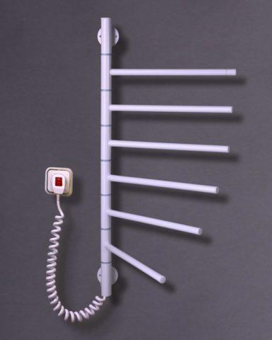 Формы электрических полотенцесушителей могут быть разными