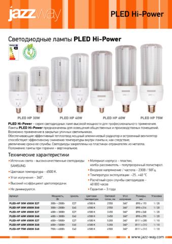 Температура эксплуатации светодиодной лампы типа «кукуруза»
