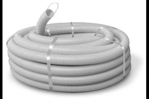 Материал, из которого изготовлена гофра для кабеля, и размеры ее обязательно указываются на этикетке