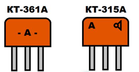 Отличия маркировки КТ315 от КТ361