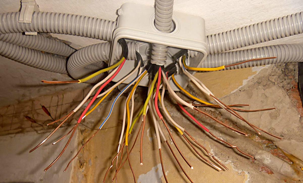Телевизионный кабель монтаж своими руками