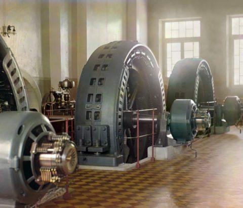 Мощнейшие генераторы, установленные на Пушкинской ГЭС