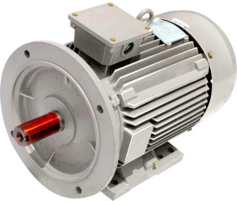 Мощный двигатель постоянного тока