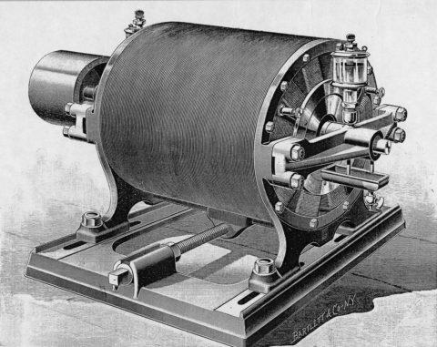 Первые электрические двигатели