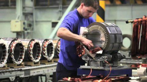 Промышленное производство мощных генераторов