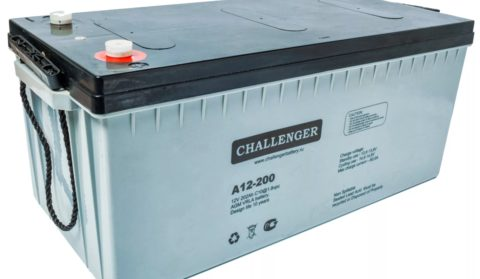Чтобы не остаться в безветренную погоду без электричества требуются аккумуляторы с хорошей емкостью