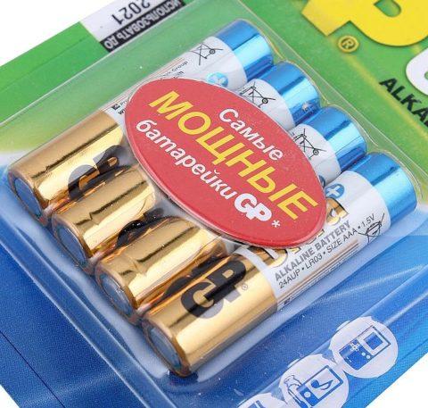 Классическая солевая батарейка
