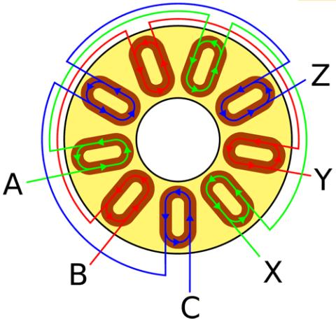 Схема подключения катушек