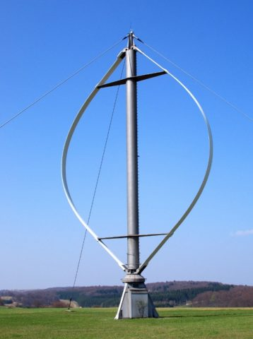 Вертикальные ветрогенераторы 10 квт с ротором Дарье
