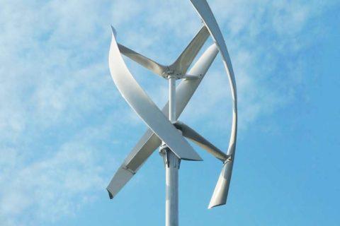 Ветряк с геликоидным ротором