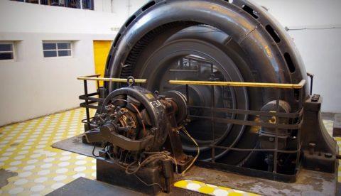 Горизонтальный гидрогенератор (Ленинградский электромеханический завод)