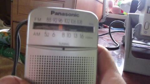 Определяем место прокладки провода с помощью радио