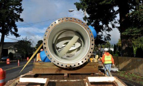 Транспортировка водопроводного гидрогенератора