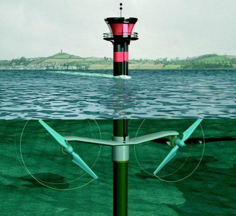 «Ветряк» под водой
