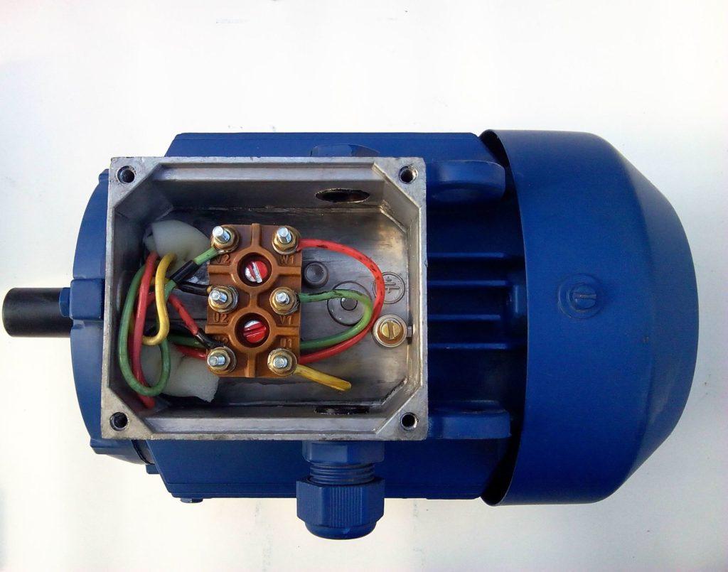 Подключение трехфазного асинхронного электродвигателя