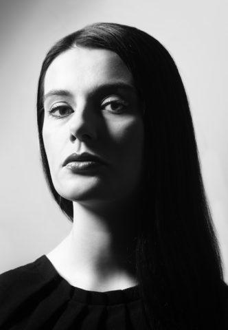 Черно-белая портретная съемка