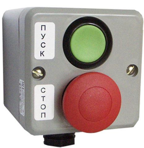 Кнопочный пост на две кнопки
