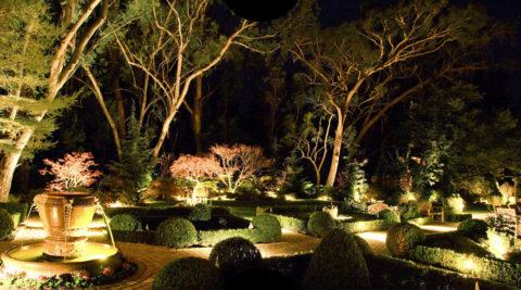Парковое ландшафтное освещение