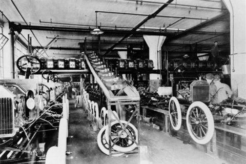 Так собирались первые «Форды»