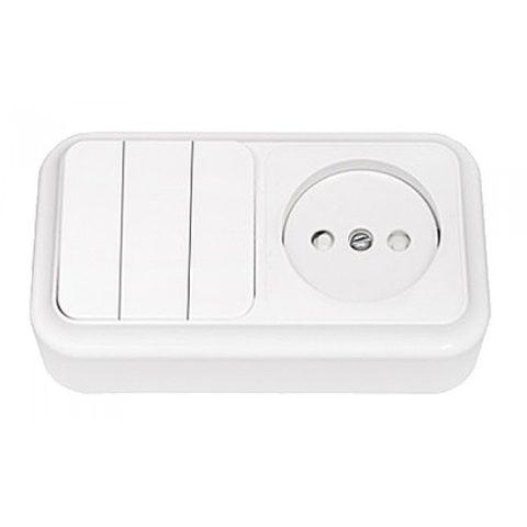Выбираем номинальные параметры блока розетки и выключателя