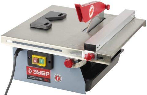 Какой электрический плиткорез выбрать – фирма «Зубр» выпускает недорогое оборудование хорошего качества